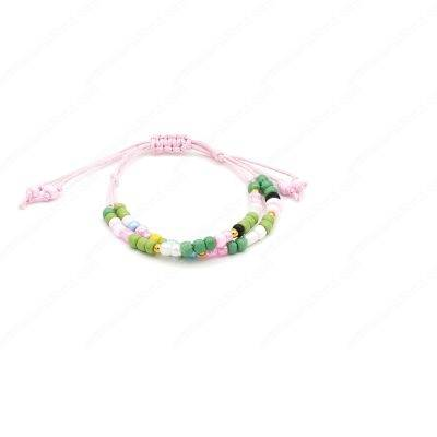 Artistic Double Row String Bracelet