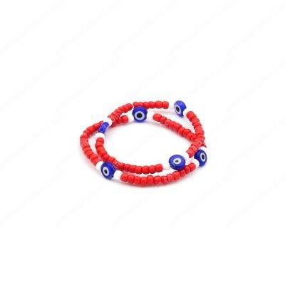 Elastic Red Evil Eyes Bracelets